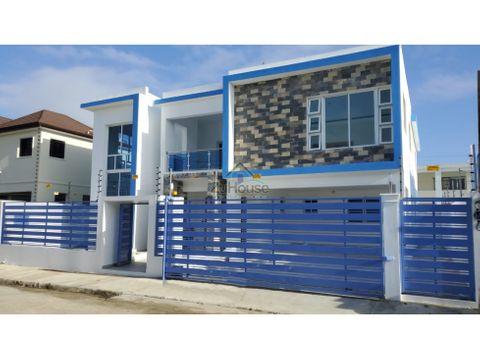 casa nueva en venta en villa maria santiago wpc04 a