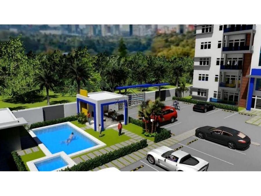 apartamentos en venta en torre con piscina en thomen santiago wpa64 a2