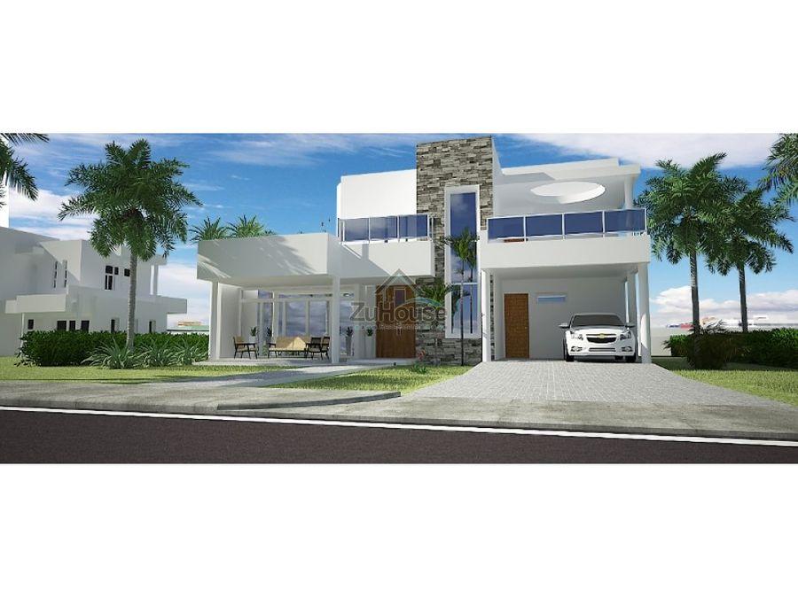 villa en venta en sosua puerto plata wpv05