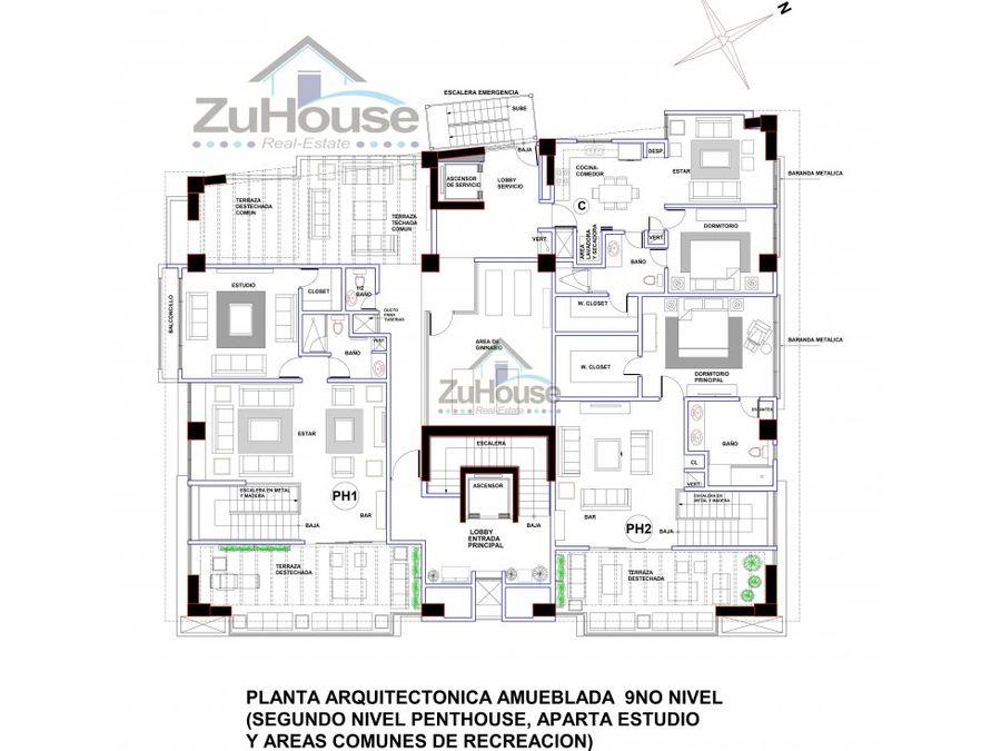 penthouse en venta en la trinitaria wpa111 e
