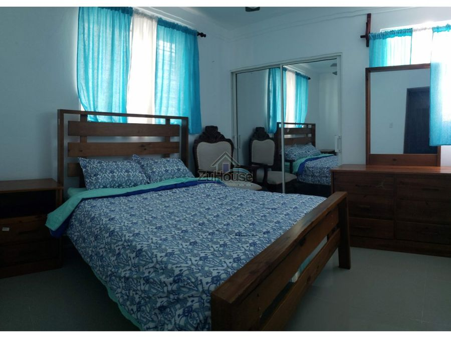 apartamento amueblado en venta en gurabo santiago wpa02