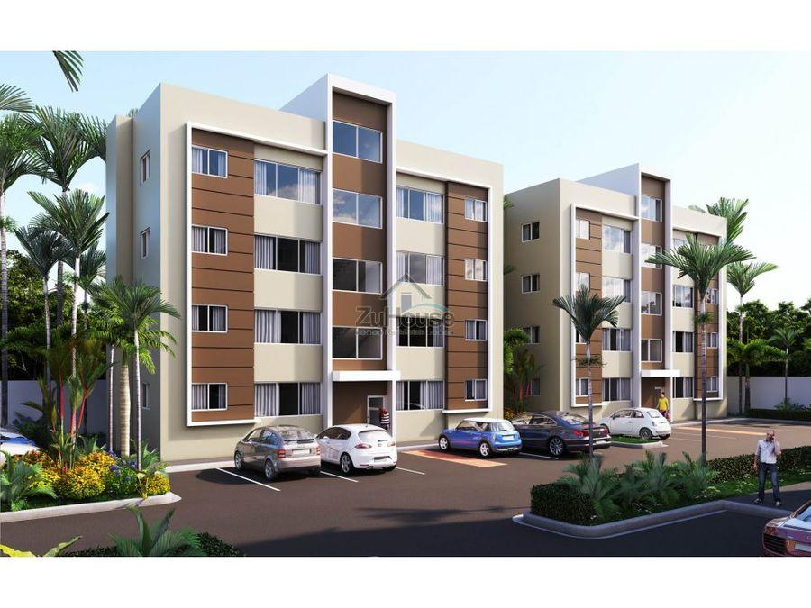 apartamentos 2 habs en venta en carretera licey santiago wpa64 b