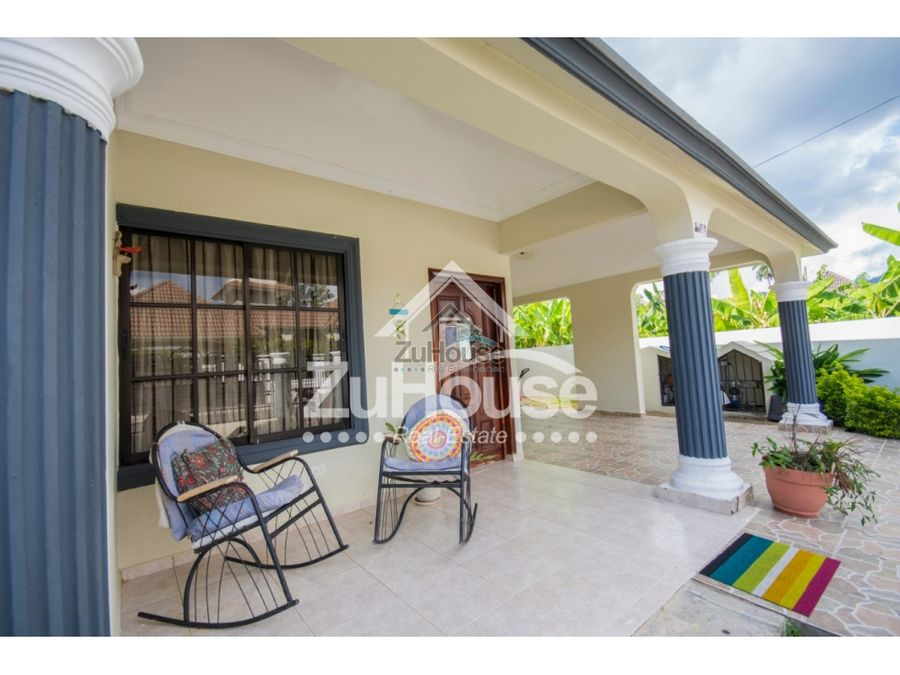 casa en venta en tamboril residencial cerrado ajc01