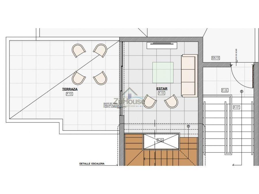 apartamento tipo penthouse en venta en planos en el dorado wpa03c