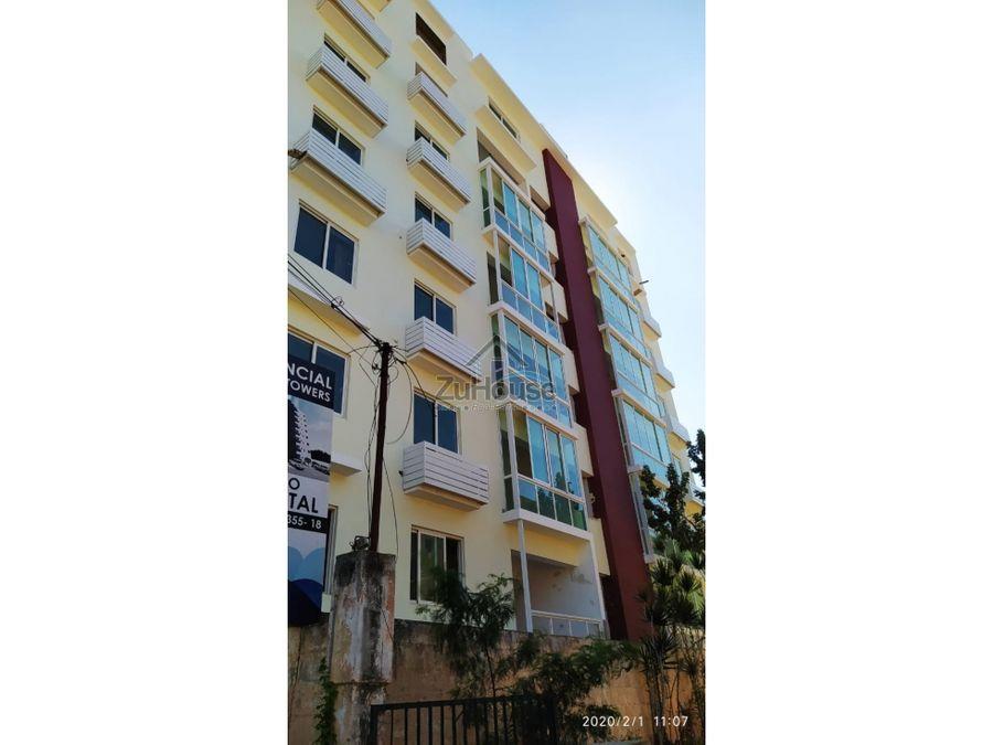 apartamento en venta villa olga santiago za25 a
