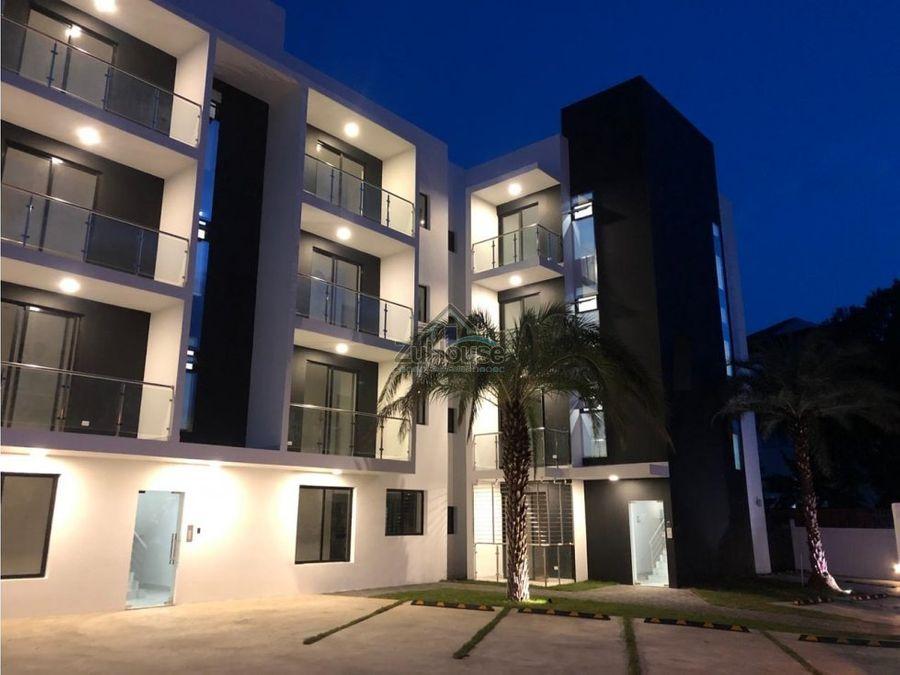 apartamento en venta llanos de gurabo stgo za08 c