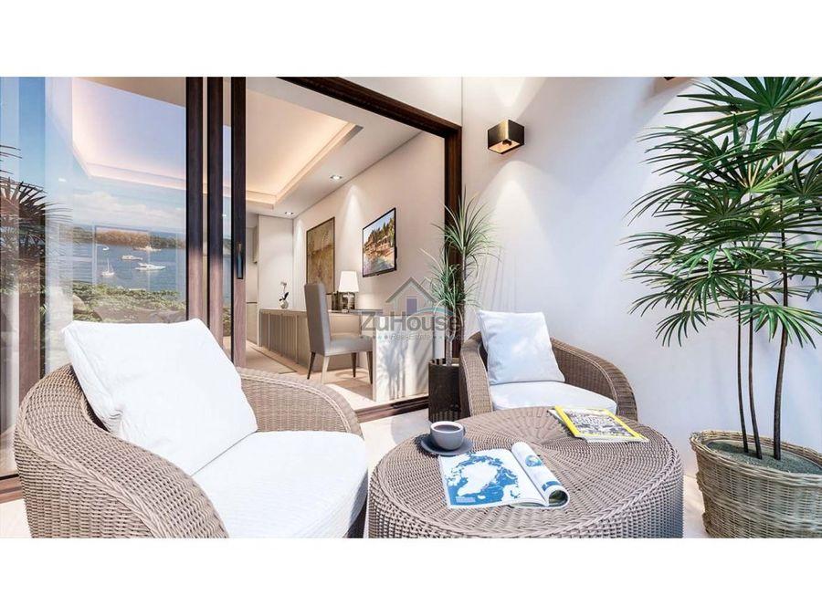apartaestudio en venta con hermosa vista a bahia de samana wpa129 e4