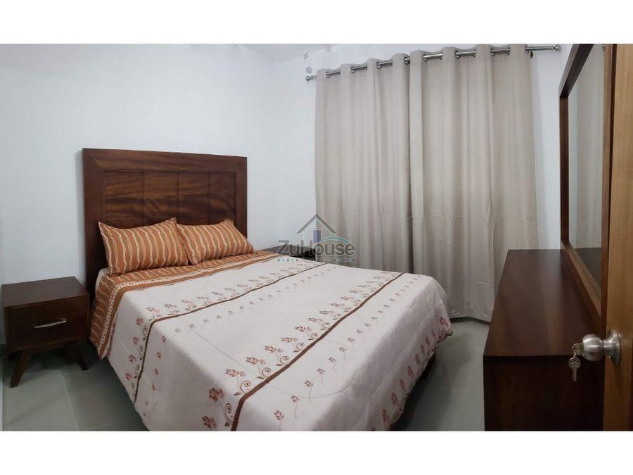 apartamento amueblado en alquiler santiago awpa03