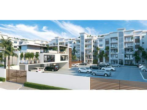 penthouse en venta en santiago de los caballeros wpa41 b