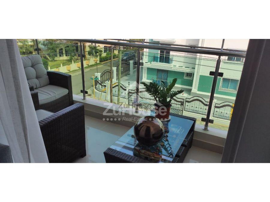 apartamento en venta en 3er nivel en los alamos santiago aja03