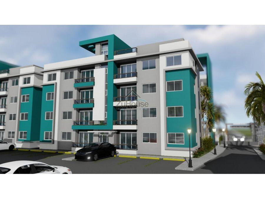 apartamentos en venta en planos en segundo nivel en tamboril wpa77 b