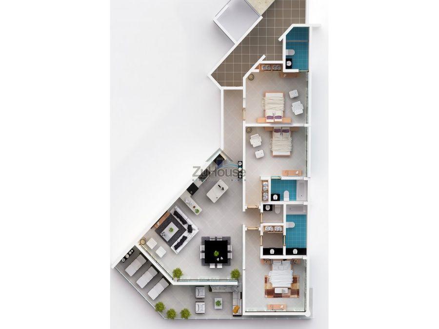 apartamento en venta cabarete puerto plata wpa43 e