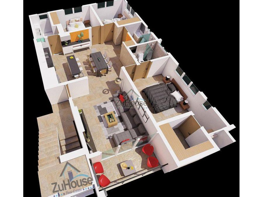 apartamento en venta los laureles santiago za56