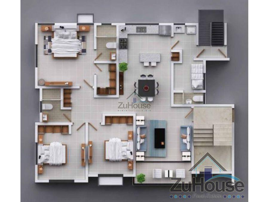 apartamento en planos con piscina wpa09 a