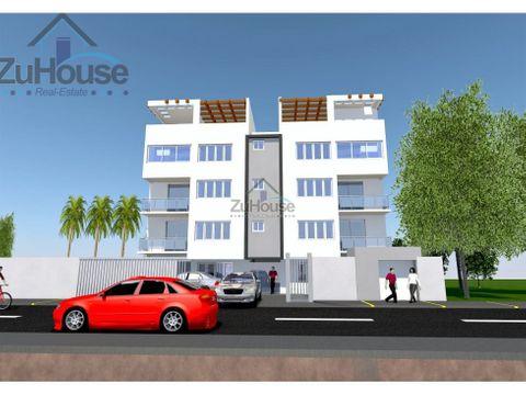 apartamento en venta en los cajuiles stgo za07