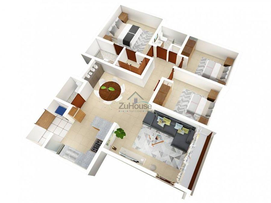 apartamento en venta en la damas santiago wpa92 a