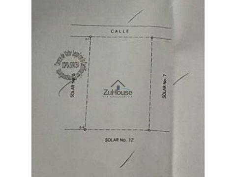 solar en venta en villa maria santiago