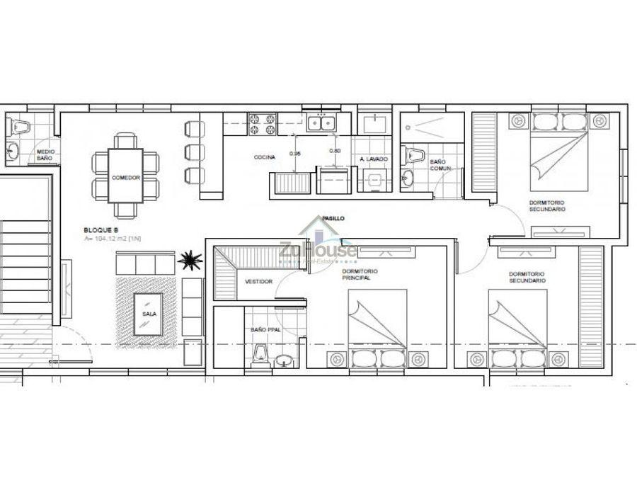 apartamento en venta llanos de gurabo stgo wpa15 b