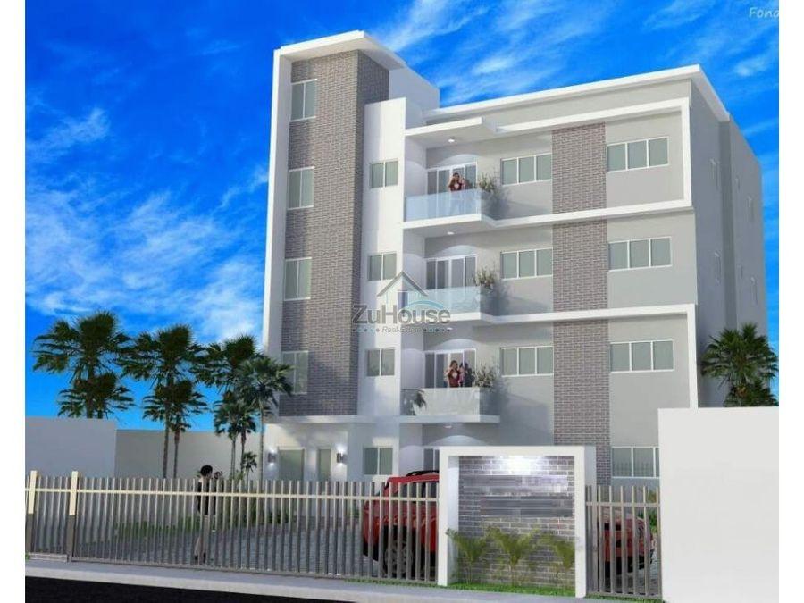 apartamento en venta los alamos santiago za51 b