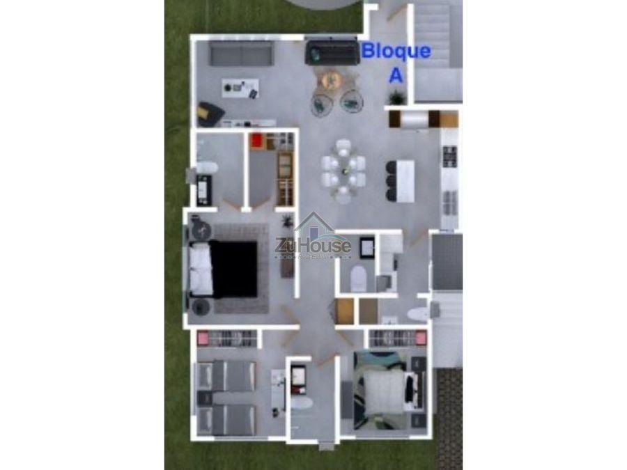 apartamento en venta en santiago wpa13 b