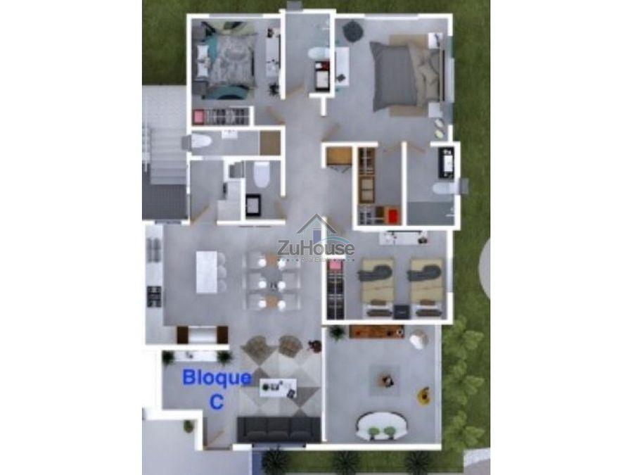 penthouse en venta en santiago wpa13 f