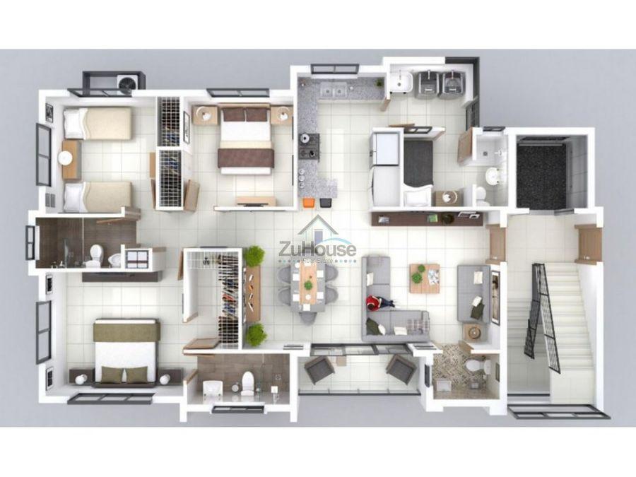 apartamento en venta en santiago wpa98 a