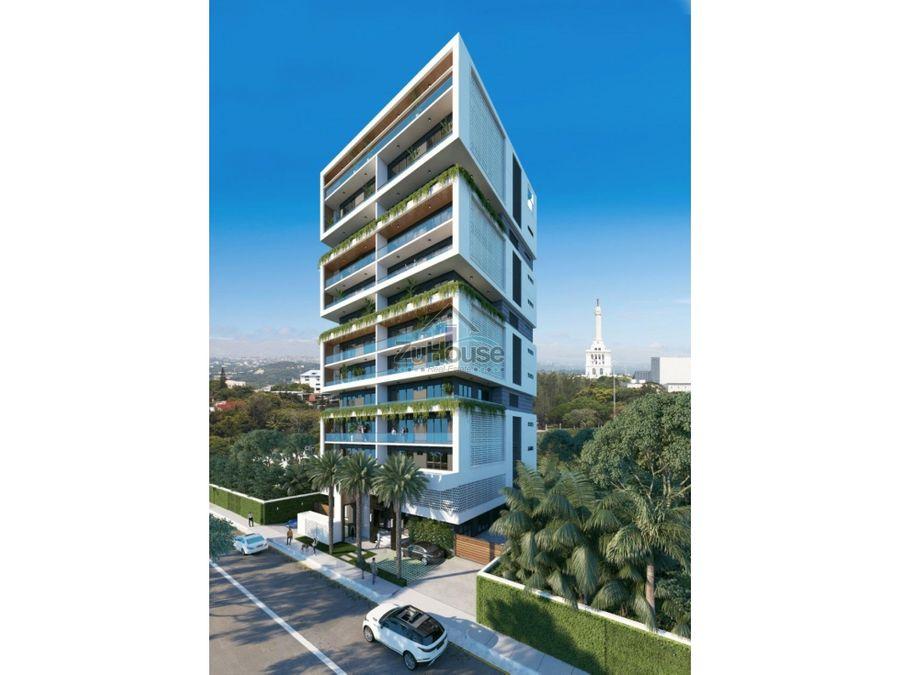 apartaestudio en venta en torre con piscina en santiago za05f
