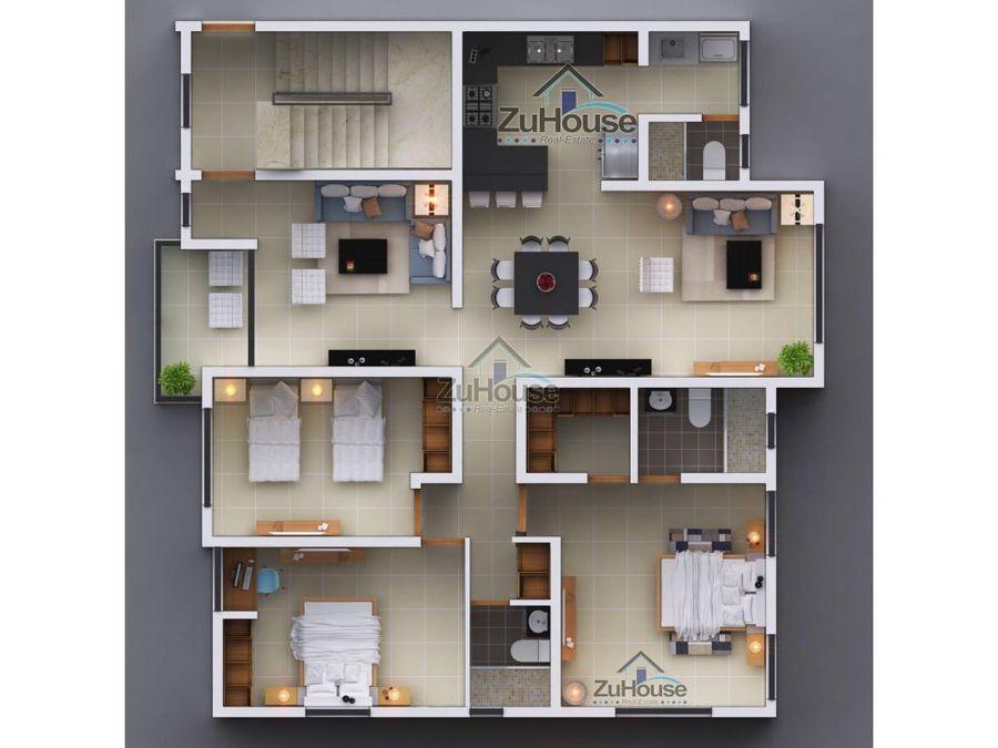 apartamento en venta en los alamos stgo wpa12 a
