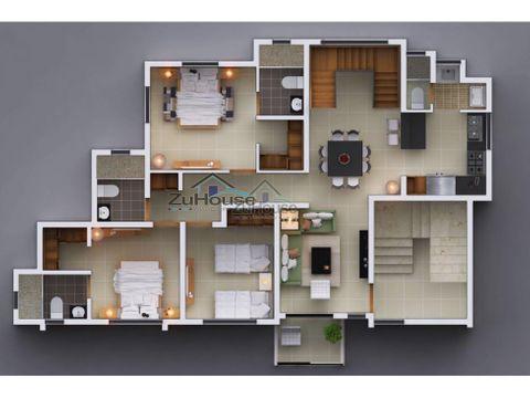 penthouse en venta en los alamos stgo wpa12 c