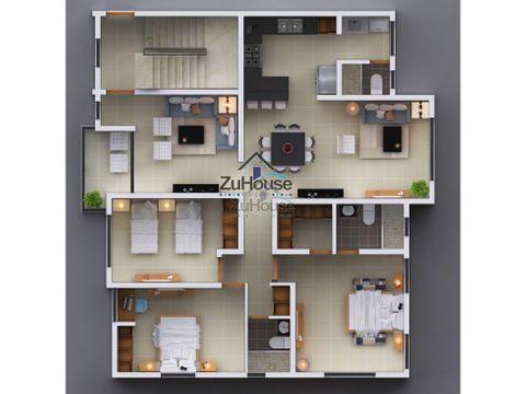 penthouse en venta en los alamos stgo wpa12 d