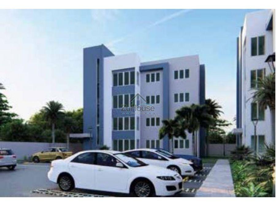 apartamento de 2 habitaciones en venta en el dorado santiago wpa15 b