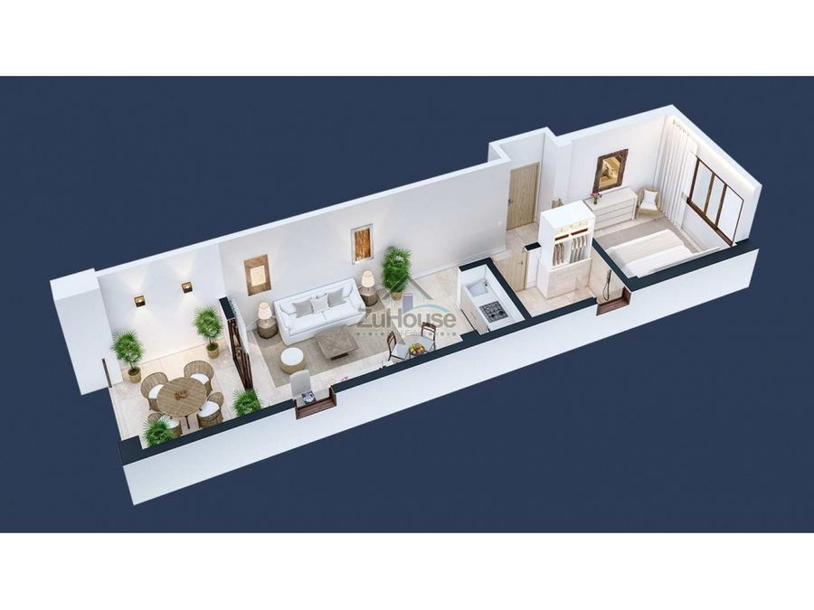 apartamento en venta con impresionante vista al mar samana wpa129 a4