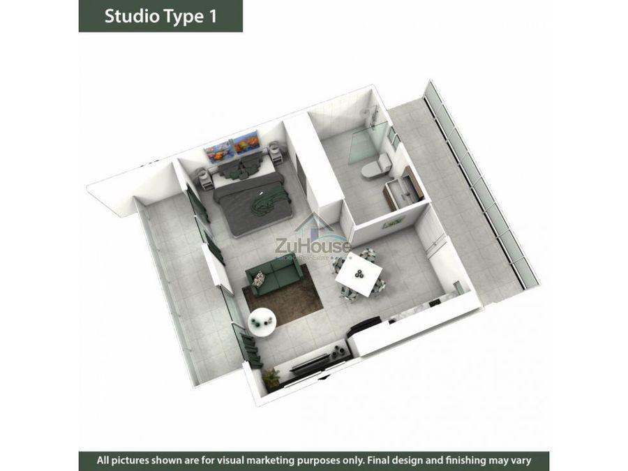 apartaestudio en venta en planos en sosua wpa70 a3