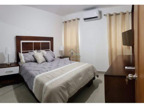 apartamento amueblado en alquiler santiago awpa02