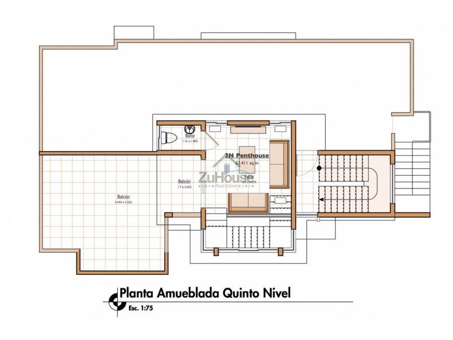 penthouse en venta en el rosal santiago wpa29