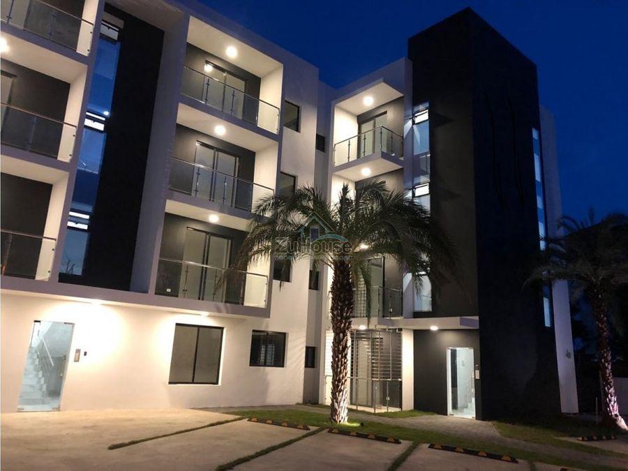 apartamento en venta llanos de gurabo stgo za08 b