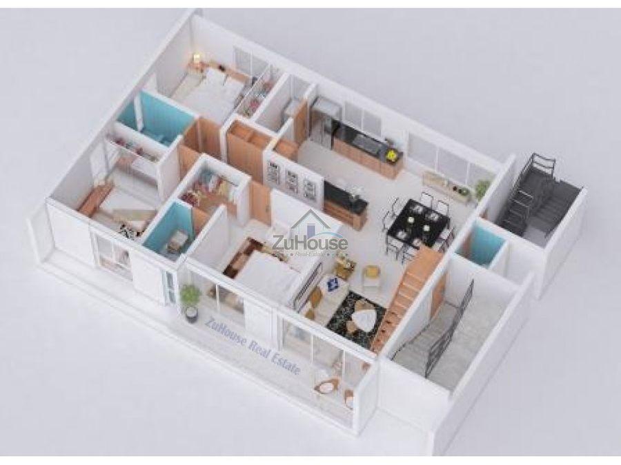 apartamento en venta en santiago wpa23 c