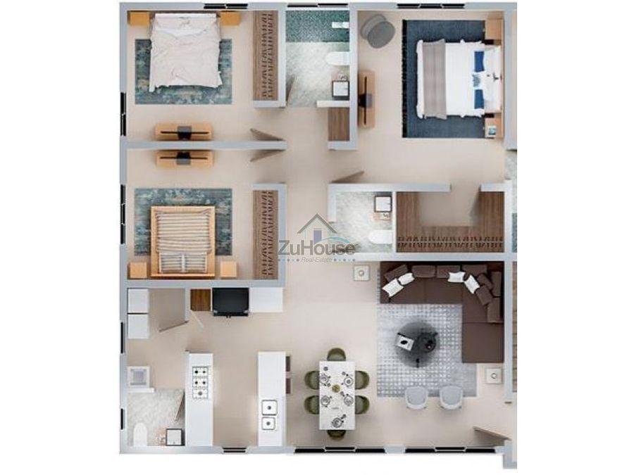 apartamento en venta en el dorado ii santiago wpa48 a