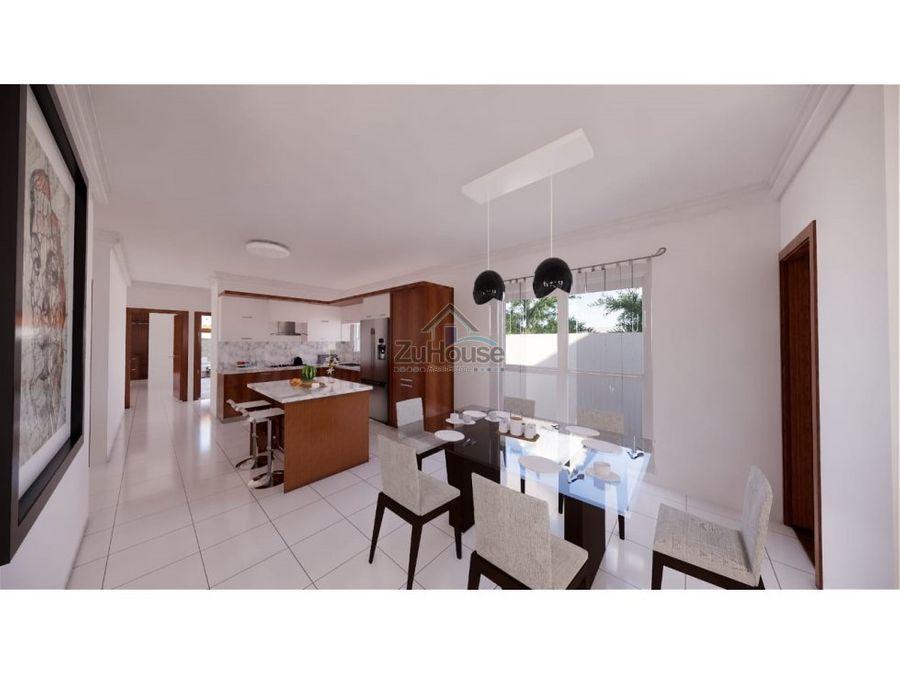 casa en venta en planos en gurabo santiago wpc07
