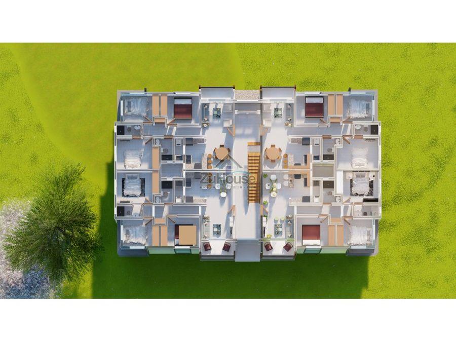 apartamentos en venta en planos en gurabo santiago wpa67 a
