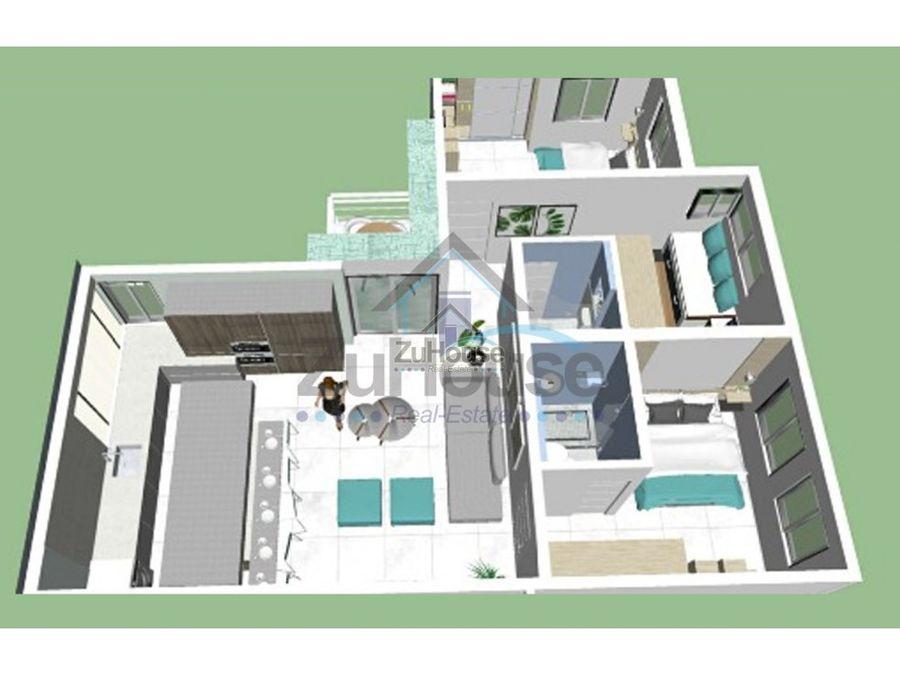apartamentos en planos de 1 y 2 habitaciones en venta en punta cana