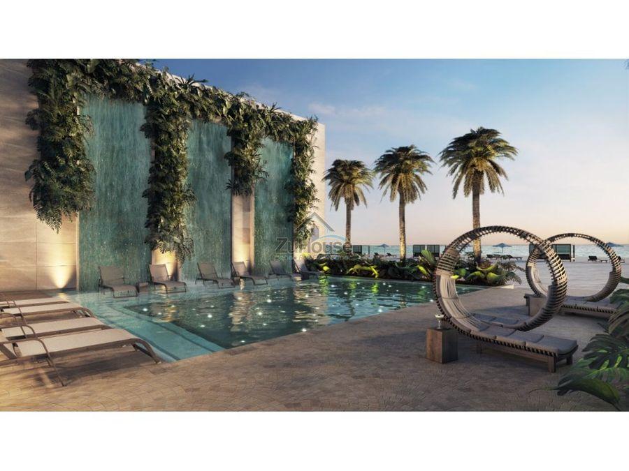 apartamento en venta con vista a playa punta cana wpa68b