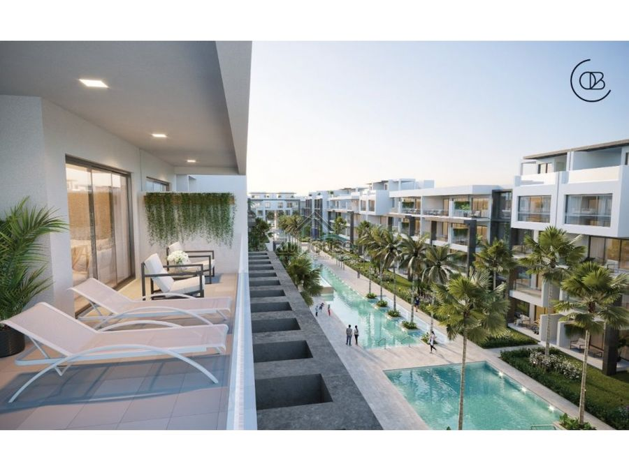 apartamento en venta en playa bavaro wpa146 a