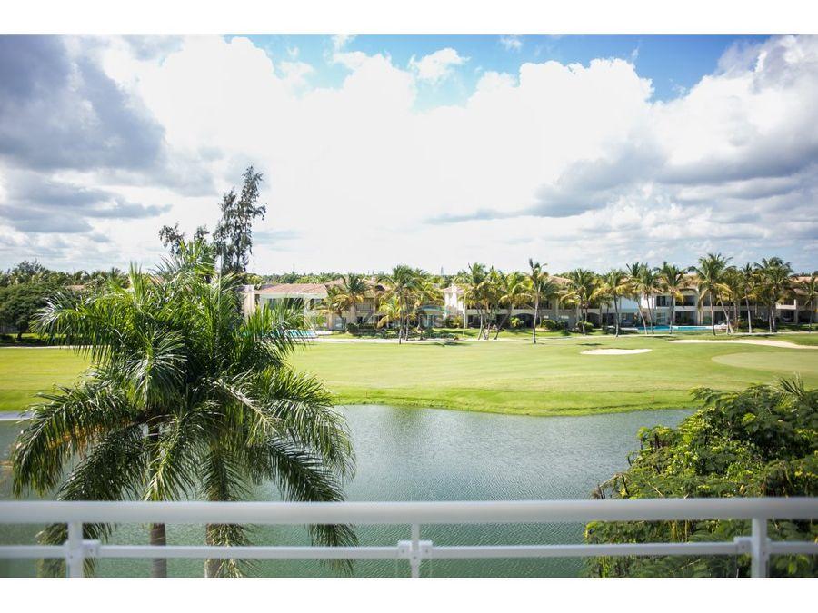 apartamento en venta vista a golf pta cana wpa18 b