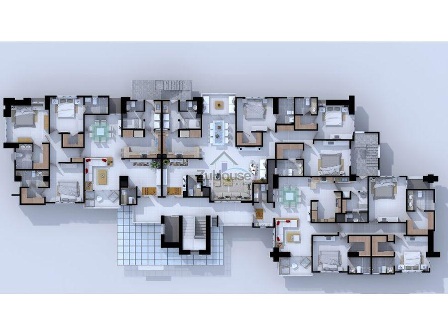 apartamento en venta la espanola santiago wpa28 b