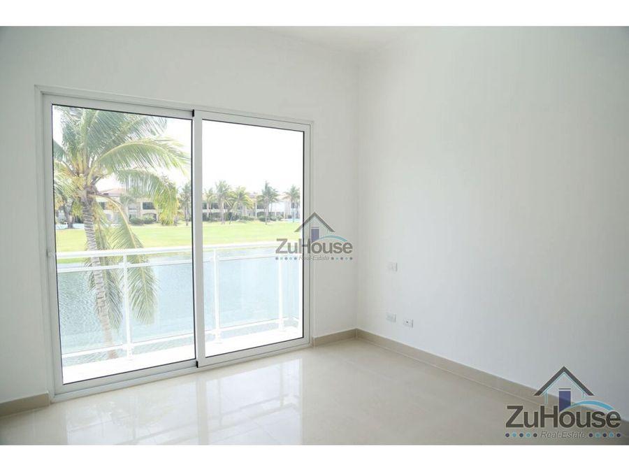 apartamento en venta vista a golf pta cana wpa18 a
