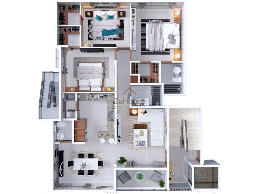 apartamentos en venta en planos en torre de villa maria wpa04 c1