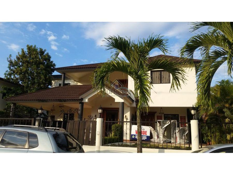 casa en venta gurabo santiago zc08