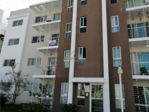 apartamento en alquiler con cuarto de servicio en gurabo awpa02