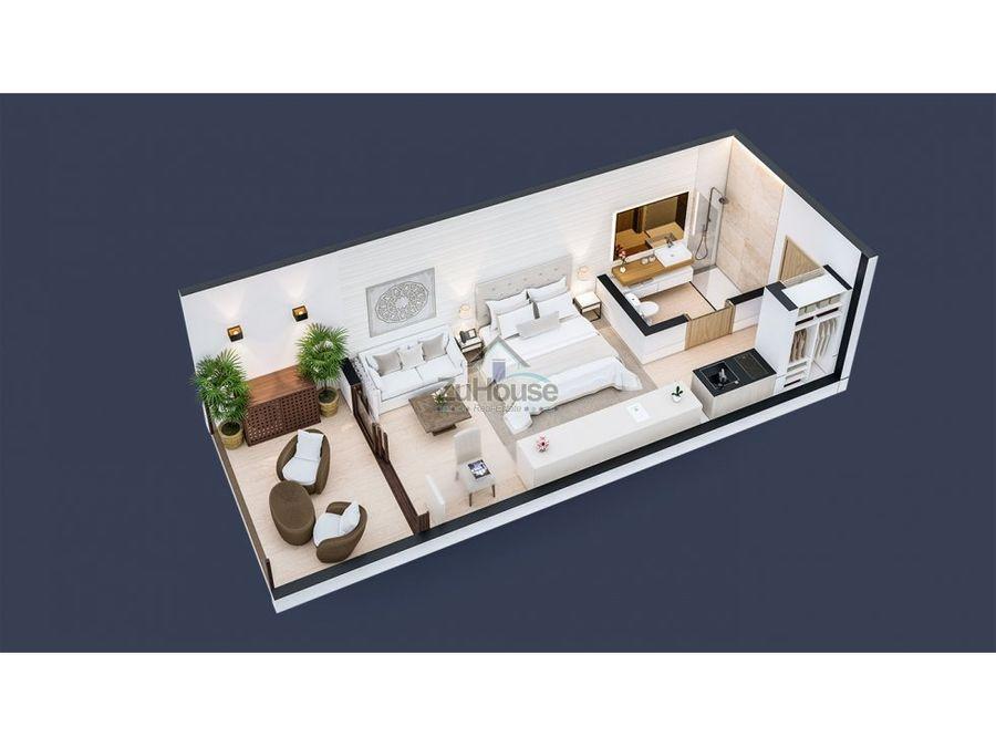 apartaestudio en venta vista bahia samana wpa130 a